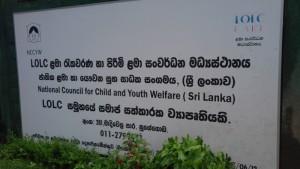CSR project Ranfer Sri Lanka